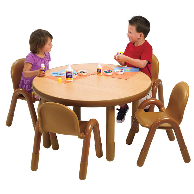 e628402b7471 Angeles Baseline Preschool Table   Chair Set (36