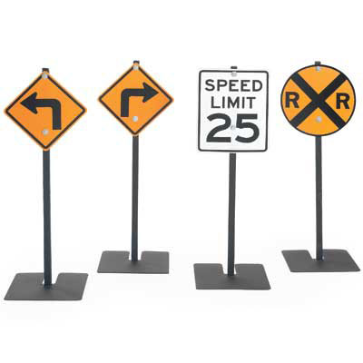 afb2610-traffic-signs-left-turn-right-turn-rr-crossing-25-mph-speed-limit