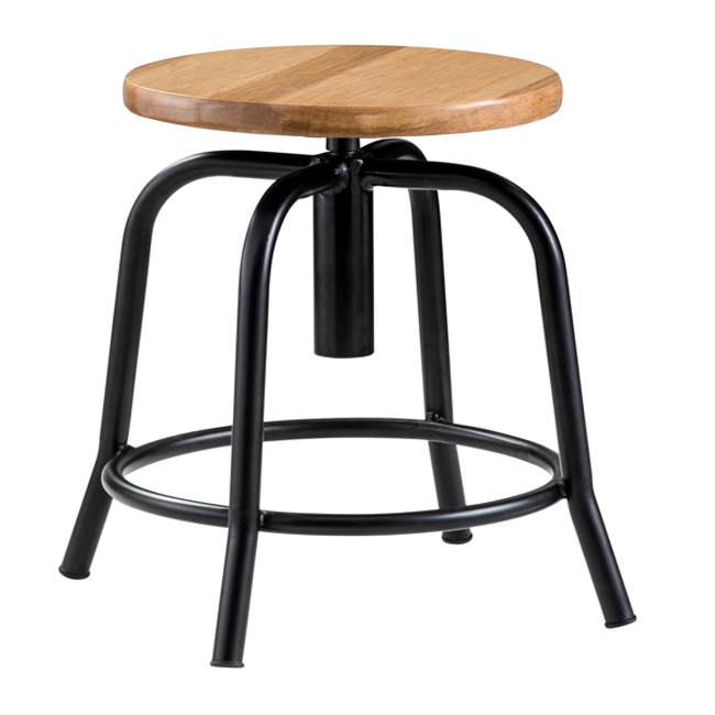 6800-adjustable-swivel-stool-wood-seat-black-frame