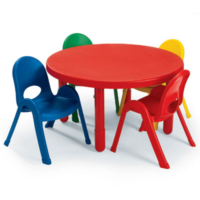angeles myvalue preschool table and chairs set 36 quot