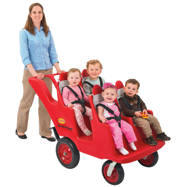 Angeles 4 Seat Bye Bye Buggy With Fat Tires Afb6300f