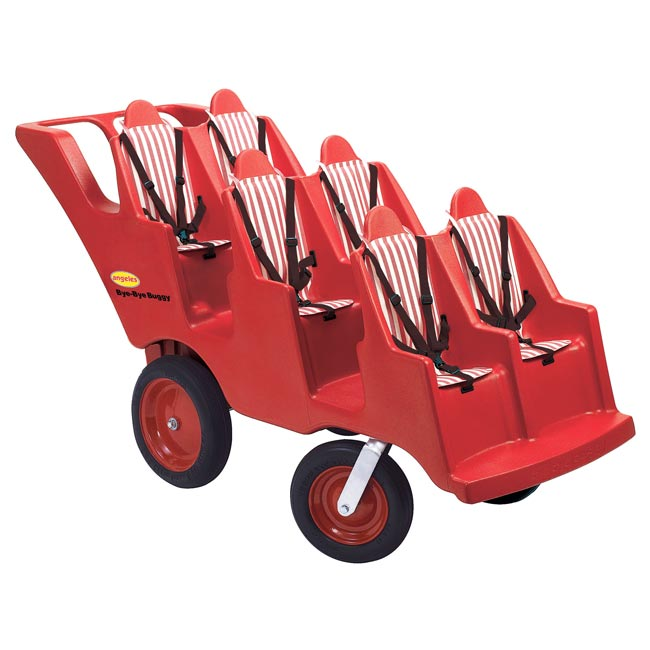 Angeles 6 Seat Bye Bye Buggy With Fat Tires Afb6400f