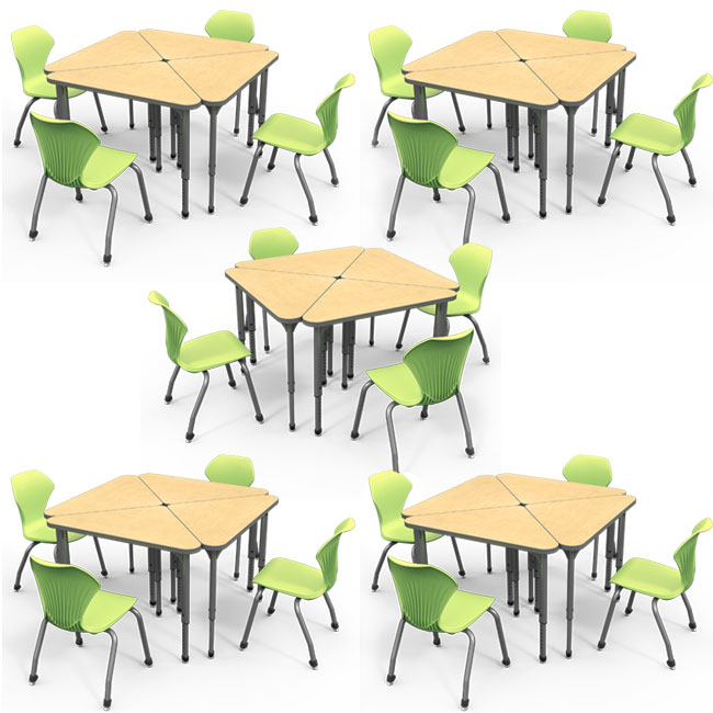 classroom-set-20-triangle-apex-desks-chairs-by-marco-group