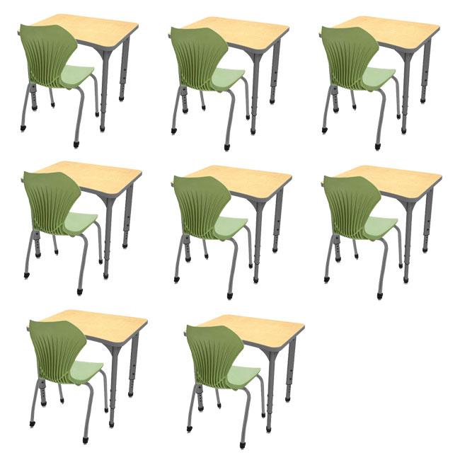382291-classroom-set-8-apex-single-student-curve-desks-8-gray-frame-stack-chairs-16
