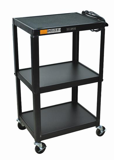 avj42-adjustable-height-metal-cart
