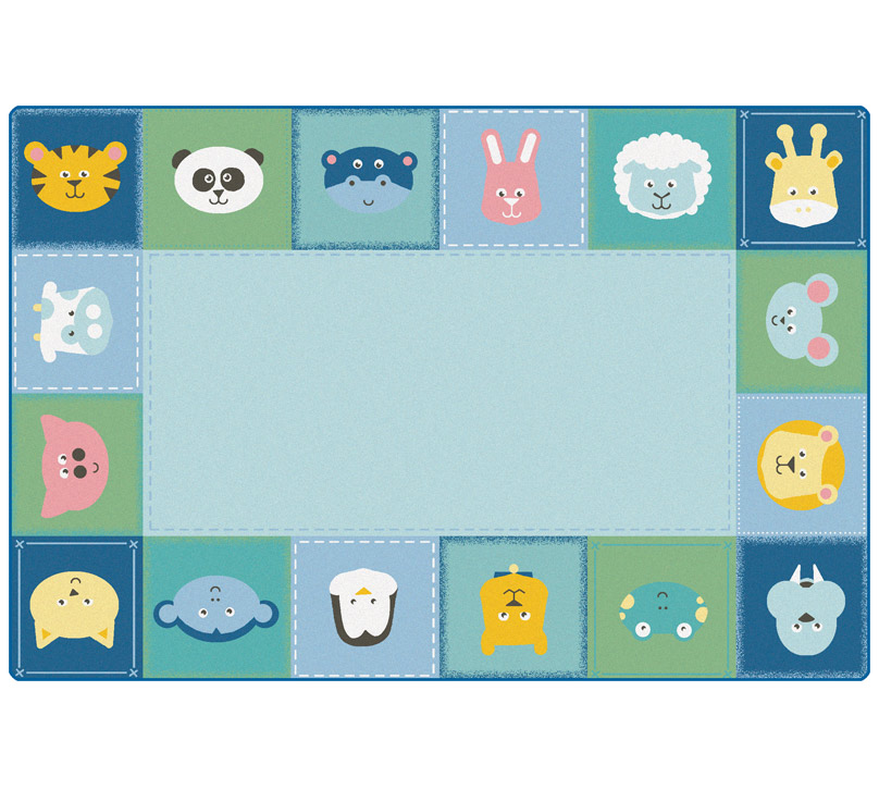 5854-baby-animals-border-kidsoft-rug-4x6-rectangle
