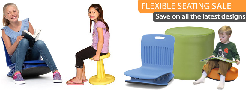 Flexible Seating & Active Alternative Classroom Chairs