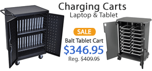 Laptop and Tablet Charging Carts