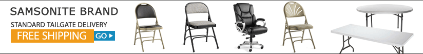 Click to see all Samsonite Furniture with Free Shipping