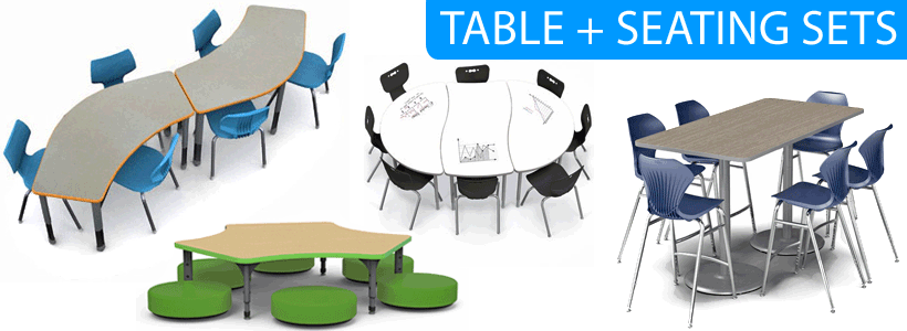 Table + Chair Packaged Sets- Save on Bundles!