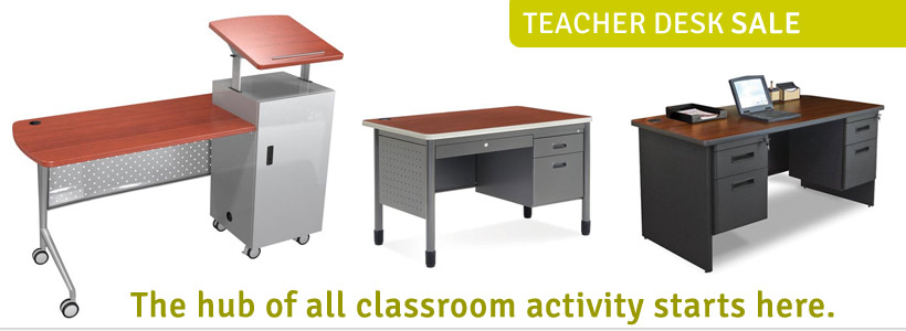 Click to see all Teacher Desks