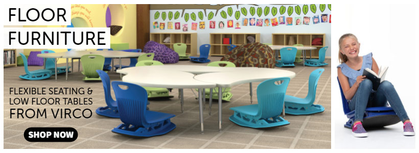 Trend Alert- Virco Classroom Floor Furniture