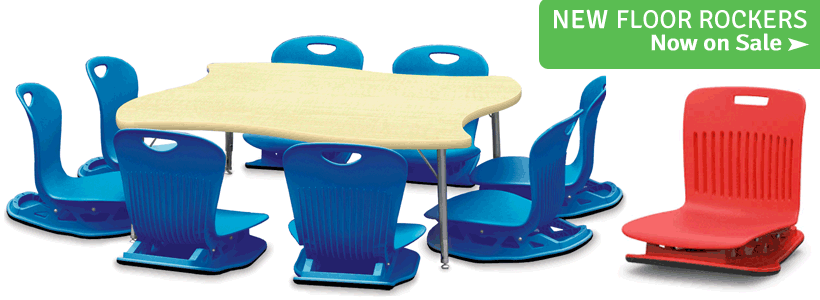 Shop New Floor Rockers & Tables from Virco!