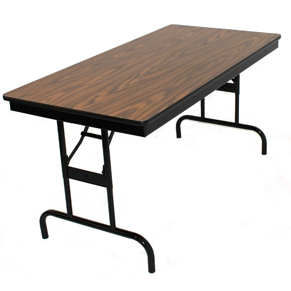 Barricks Adjustable Height Folding Table 30 X 72 112 P