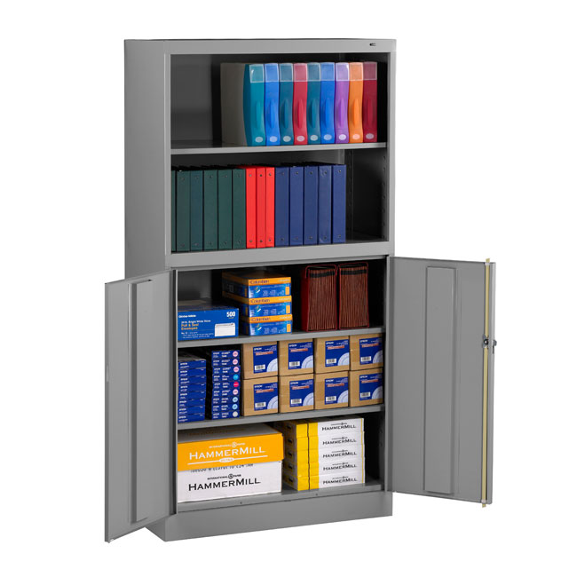 bcd18-72-x-welded-storage-bookcase-combination-cabinet