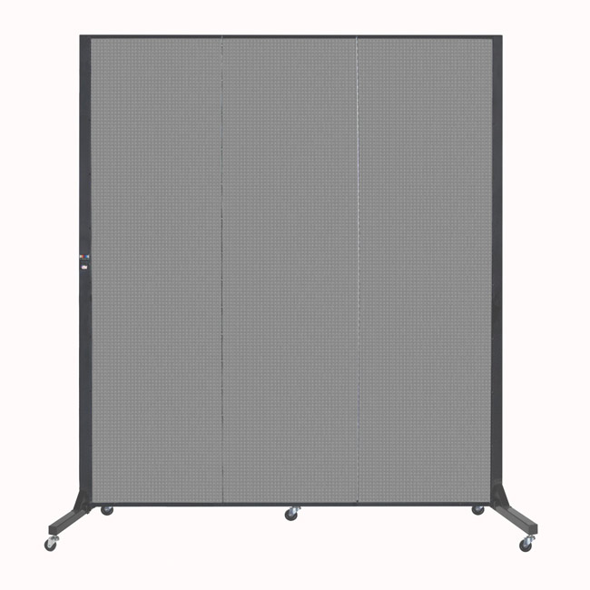 bfsl683-65-h-x-59l-5-panel-freestanding-simplex-partition