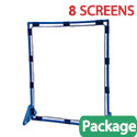 Big Screen Clear PlayPanel Set of 8 by Children's Factory