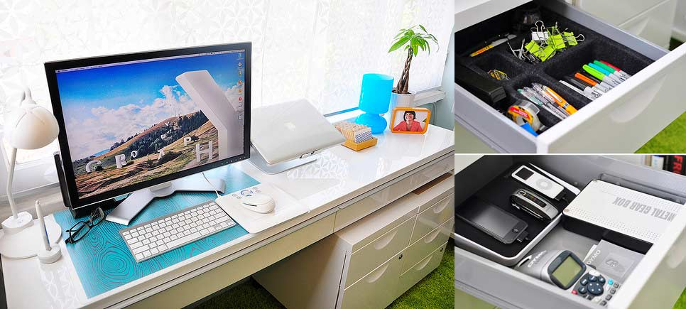 How To Organize Your Office Desk To Create An Ideal Work