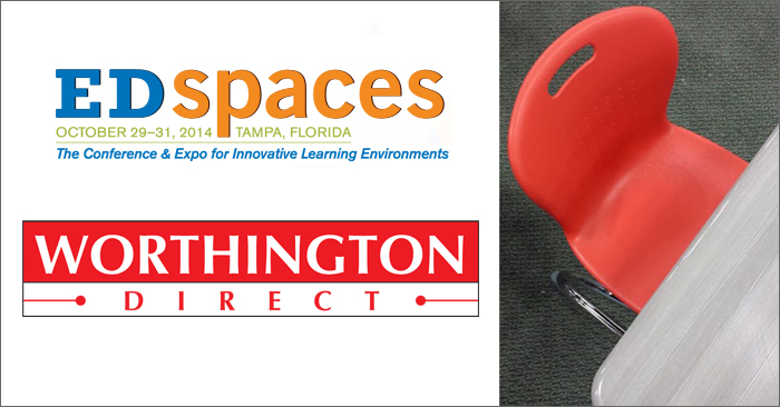 Edspaces 2014 with Worthington Direct