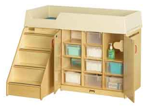 Jonit-Craft changing table
