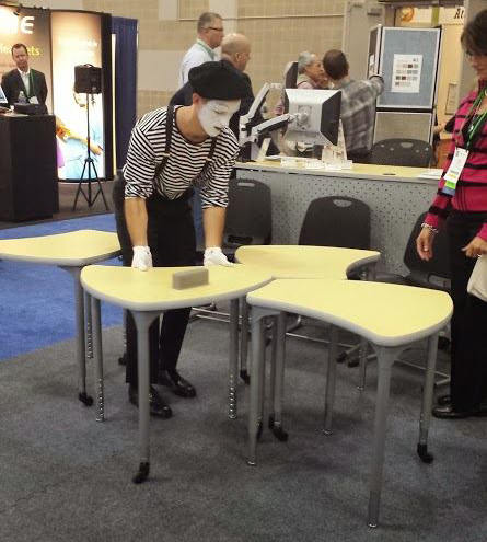 Balt Shapes Desk from 2013 Edspaces Expo