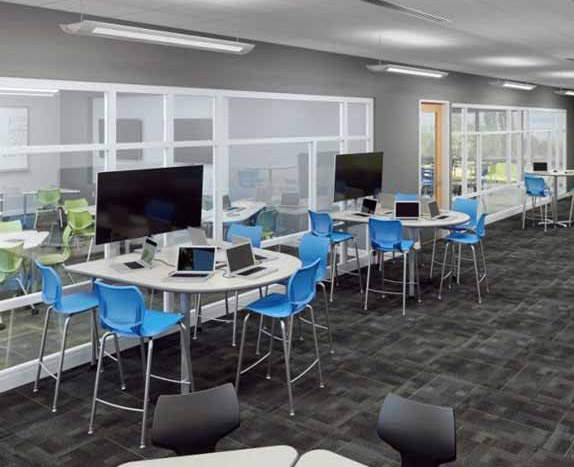 STEM 21st Century Classroom Design by Smith System