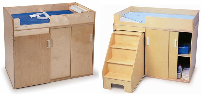 Whitney Brothers changing table