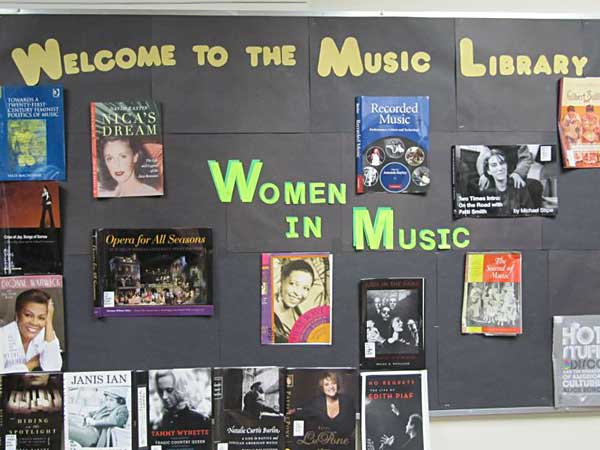 Women's History Month Bulletin Board Idea