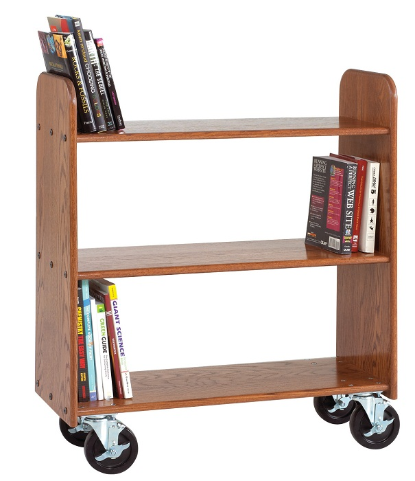bt111-solid-oak-book-truck-3-flat-shelves-12-h