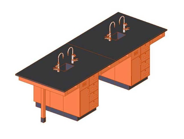 c2426k-double-face-student-service-island-eight-student-with-sink-doordrawers