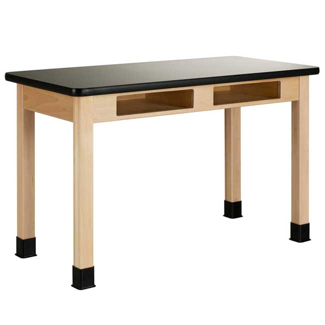 c7142m30n-chemguard-plain-apron-maple-science-table-with-book-compartment-30-d-x-60-w