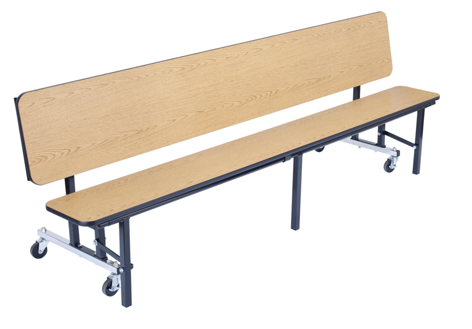 Stock 96384 National Public Seating Cbg96 Mdpepc Mobile Convertible Bench Table W