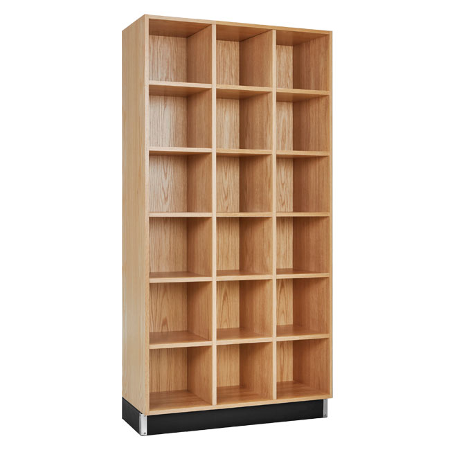 cc-3615-72k-wood-storage-cubbies-3-sections-with-18-cubbies-72-h-oak