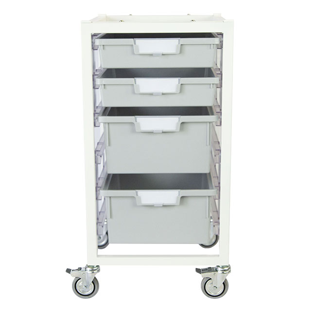 antimicrobial-nimble-cart-2-single-depth-2-double-depth-trays-light-gray