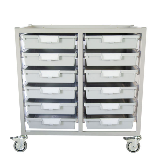 antimicrobial-swift-cart-12-single-depth-trays-light-gray