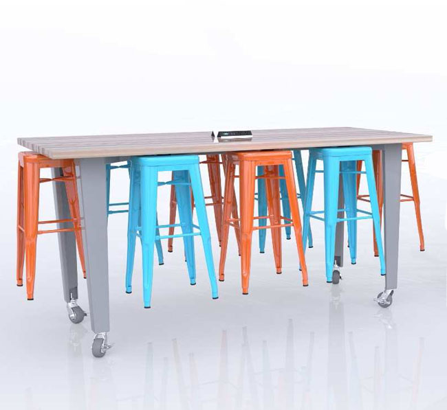 id34-8-idea-island-with-electrical-station-and-stools-34-h