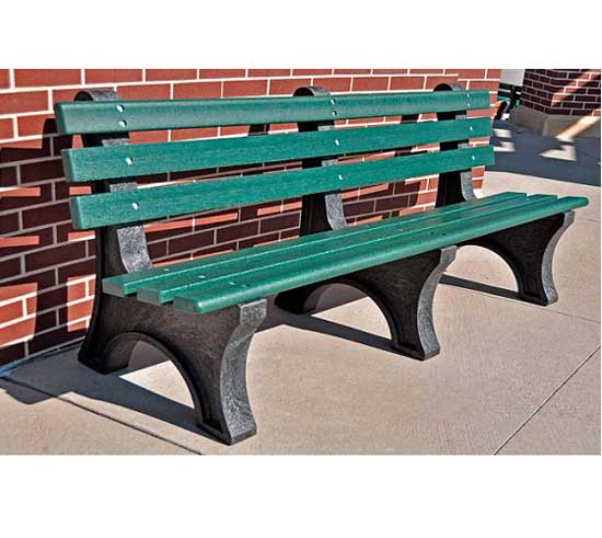Peachy Central Park Outdoor Bench 6 L Alphanode Cool Chair Designs And Ideas Alphanodeonline