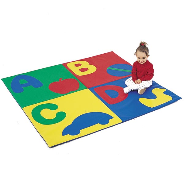 Childrens Factory Abc Crawly Mat 48 Quot Square Cf362 509