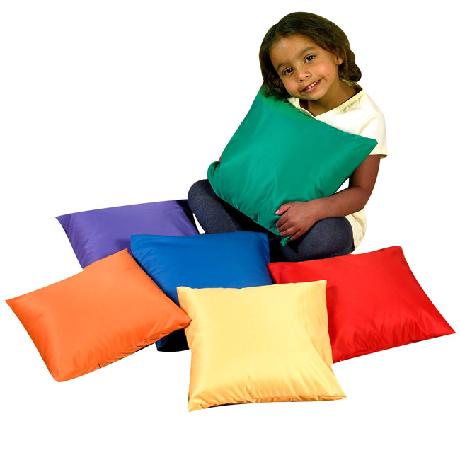 Childrens Factory Mini Throw Pillows Set Of 6 12 Square Cf650