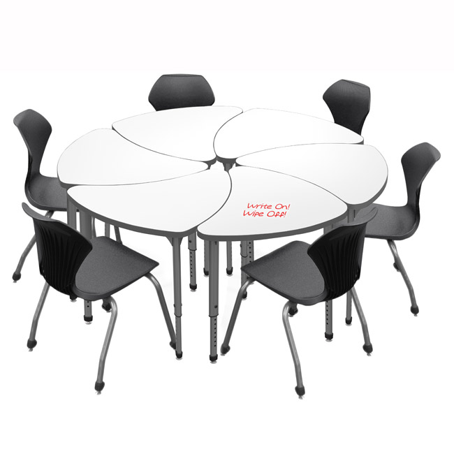 classroom-set-6-single-apex-chevron-dry-erase-desks-chairs-by-marco-group