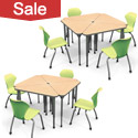 Click to see all Classroom Desk & Chair Packages