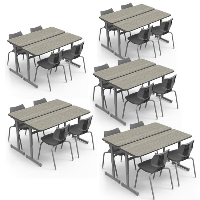 01661101184920 Classroom Set 20 Flavors 18 Chairs 10
