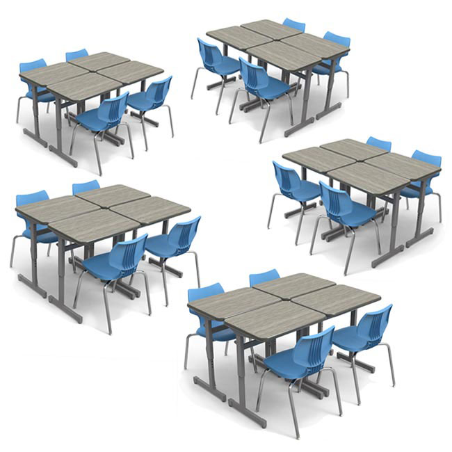 classroom-set-20-silhouette-single-desks-20-flavors-chairs-by-smith-system