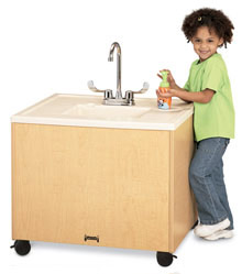 Jonti-Craft Portable Sink for Handwashing