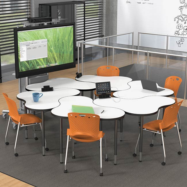Cloud 9 Collaborative Desk Solutions by Balt