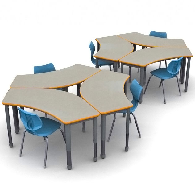 classroom-set-60-crescent-tables-flavors-chairs-by-smith-system