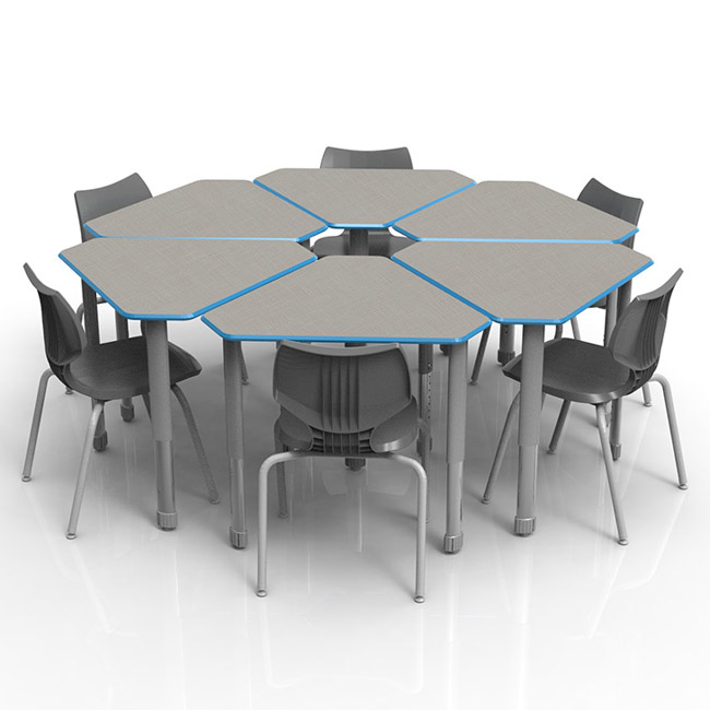 classroom-set-6-diamond-desks-flavors-chairs-by-smith-system