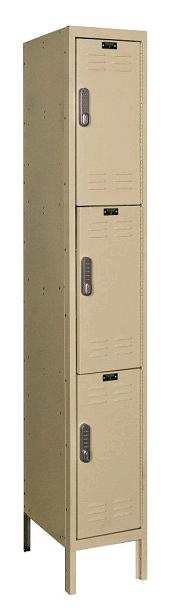 uel1228-3a-digitech-triple-tier-1-wide-lockers-w-electronic-lock-assembled-12-w-x-12-d-x-24-h