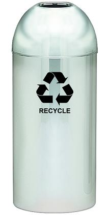 415dt-pm-r-dome-top-recycling-receptacle-chrome