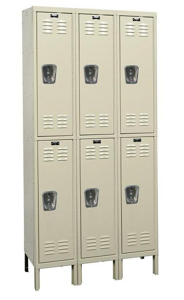u3256-2-premium-double-tier-3-wide-lockers-unassembled-12-w-x-15-d-x-30-h